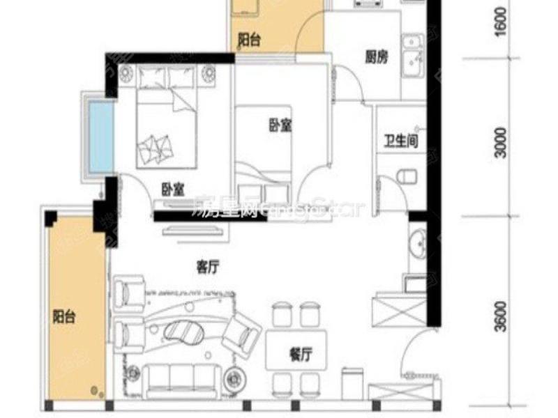 【昆明东旭骏城小区租房价格信息】-房星网