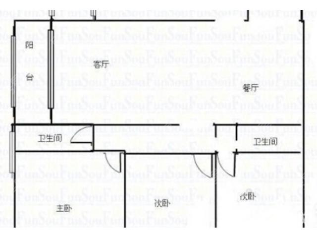 北市区 俊发城百合苑 精装3房 采光好 带家具家电 车位出售